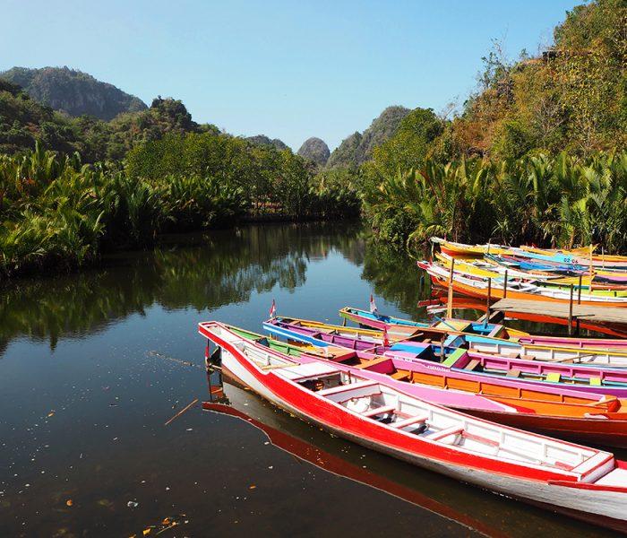 Rammang Rammang – a river, prehistoric caves, and a stone garden