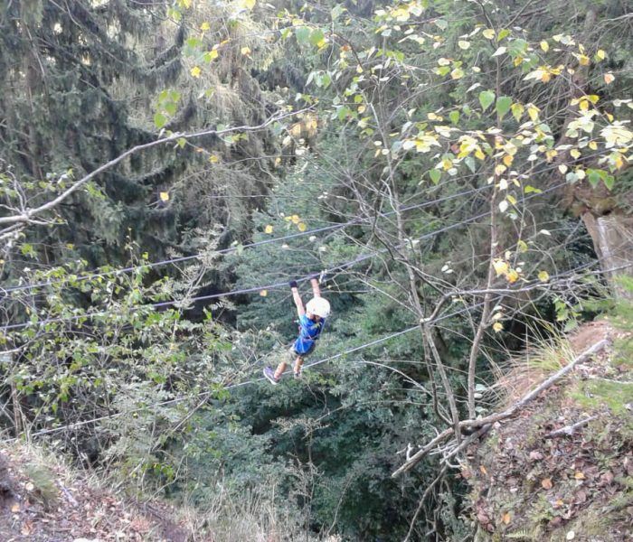 Peterlewand – Climbing wall and via ferrata at lake Ossiach